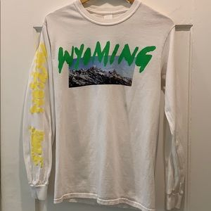 Kanye West Wyoming Ye Album Long-sleeve Small